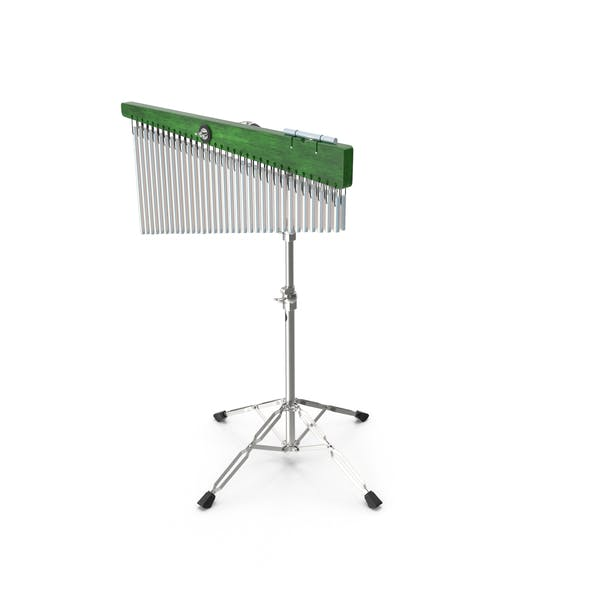 Chimes Percussion Instrument With Stand