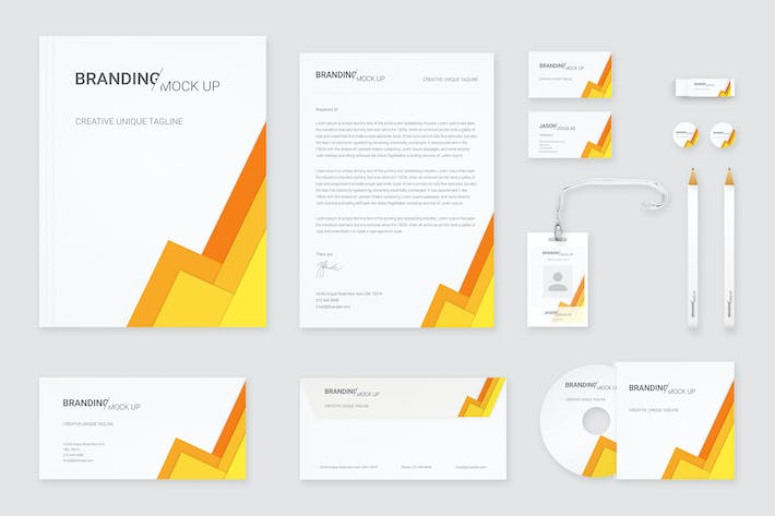Cover Image For Branding Identity Mock Up (Vol. 2)