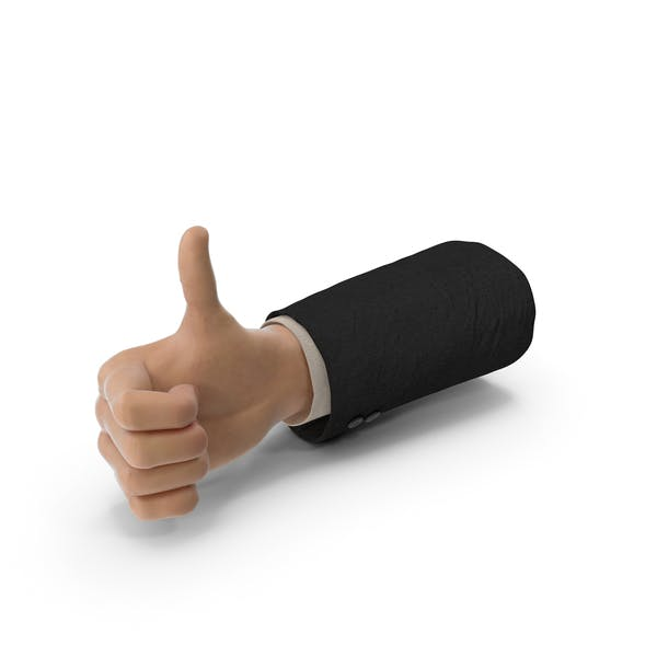 Костюм руки белый большой палец вверх