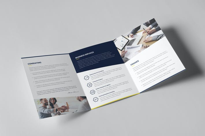 Thumbnail for Brochure – Finance and Business Tri-Fold A5