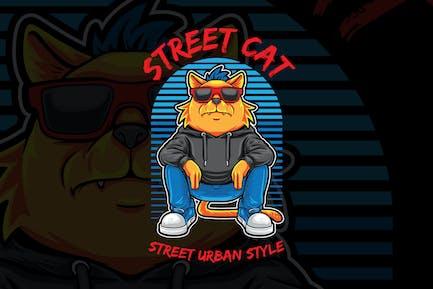 Street Cat Urban Style
