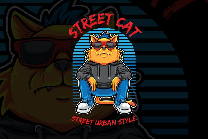 Thumbnail for Street Cat Urban Style
