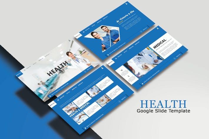 Thumbnail for HEALTH  - Google Slides Template