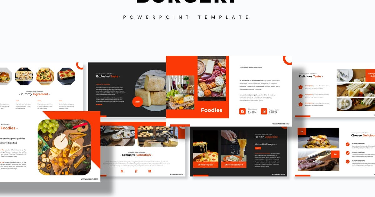 Download Burgeri - Powerpoint Template by aqrstudio