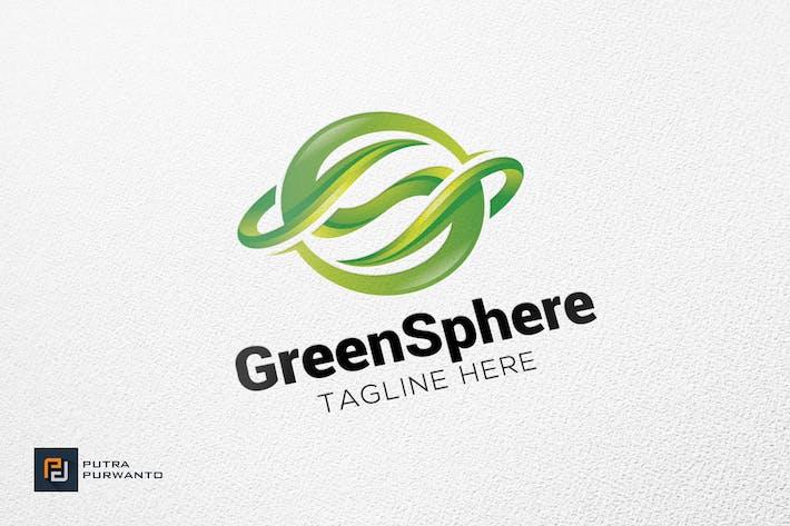 Thumbnail for Green Sphere - Logo Template