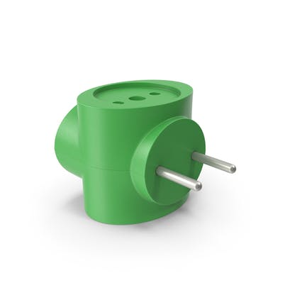 Electric Adapter Green
