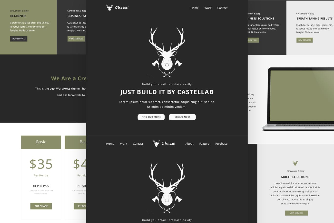 Shop - Responsive Email + Online Template Builder by CastelLab on ...