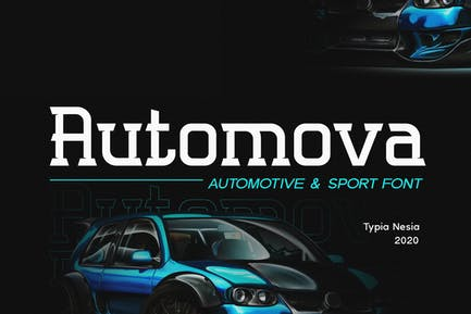 Automova - Sport Font