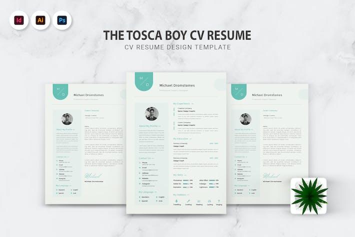 Thumbnail for Tosca Boy CV Resume