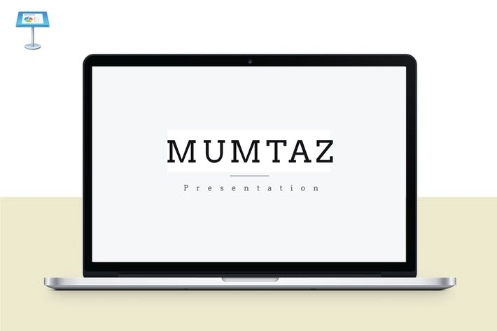 MUMTAZ - Многоцелевой Шаблон Keynote V46