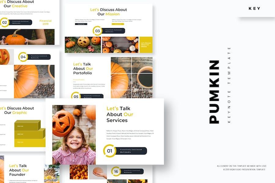 Pumpkin - Keynote Template