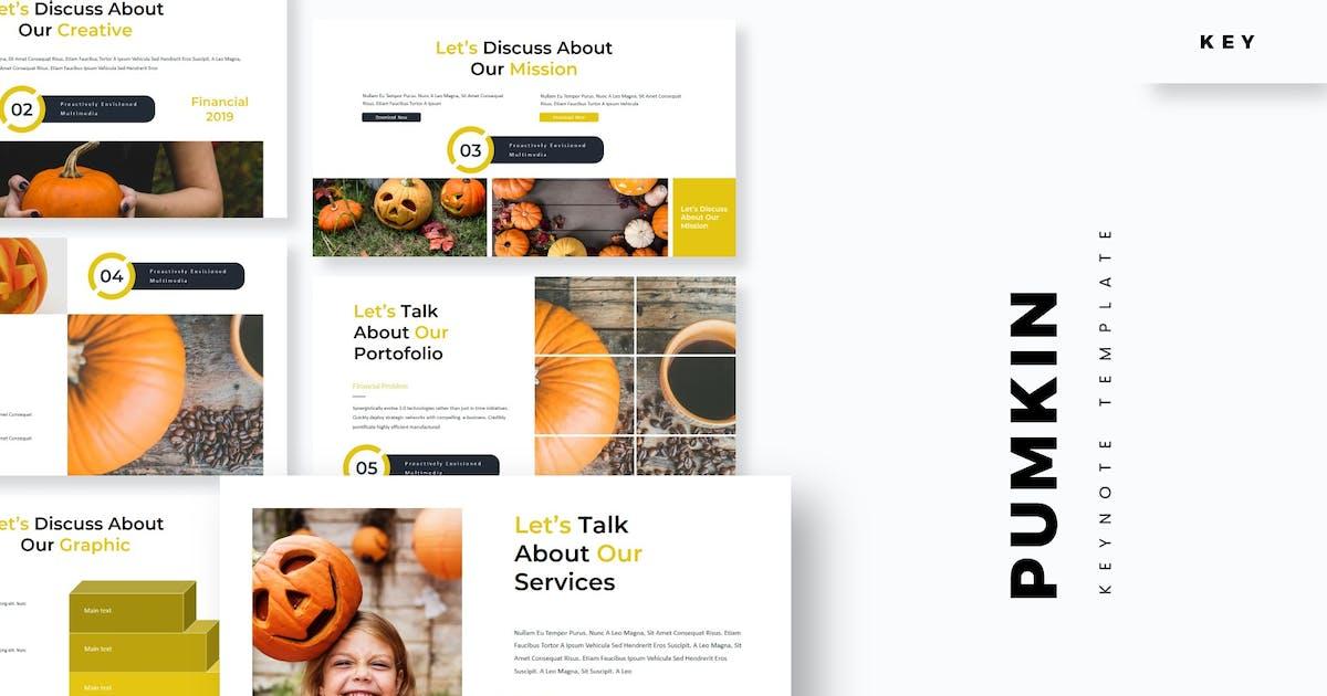 Download Pumpkin - Keynote Template by aqrstudio