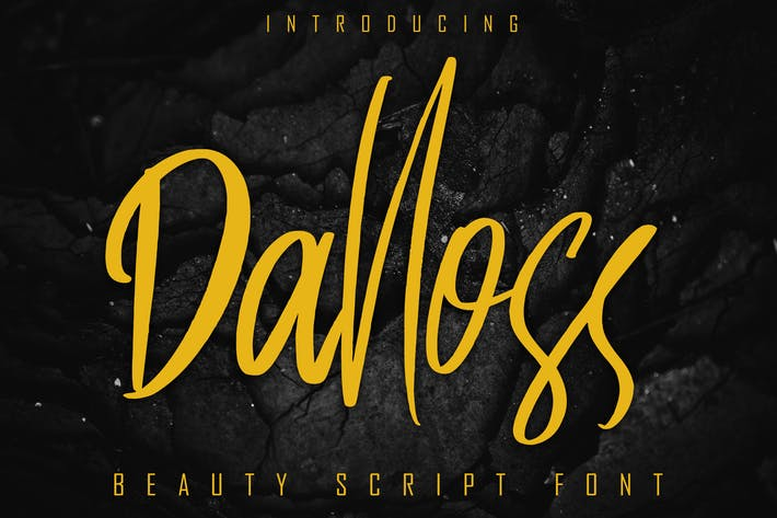 Thumbnail for Dalloss Beauty Script Font