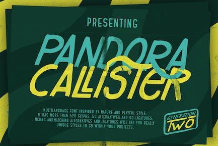 Pandora Callister Font