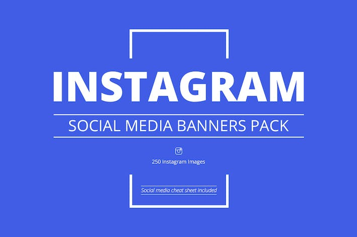 Cover Image For Instagram Social Media Banners Pack