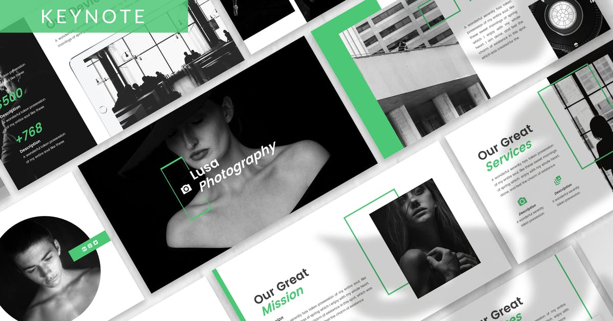 Download Lusa - Photography Keynote Template by designesto