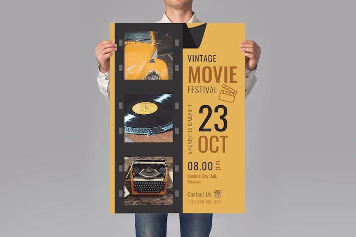 Thumbnail for Movie Festival Flyer