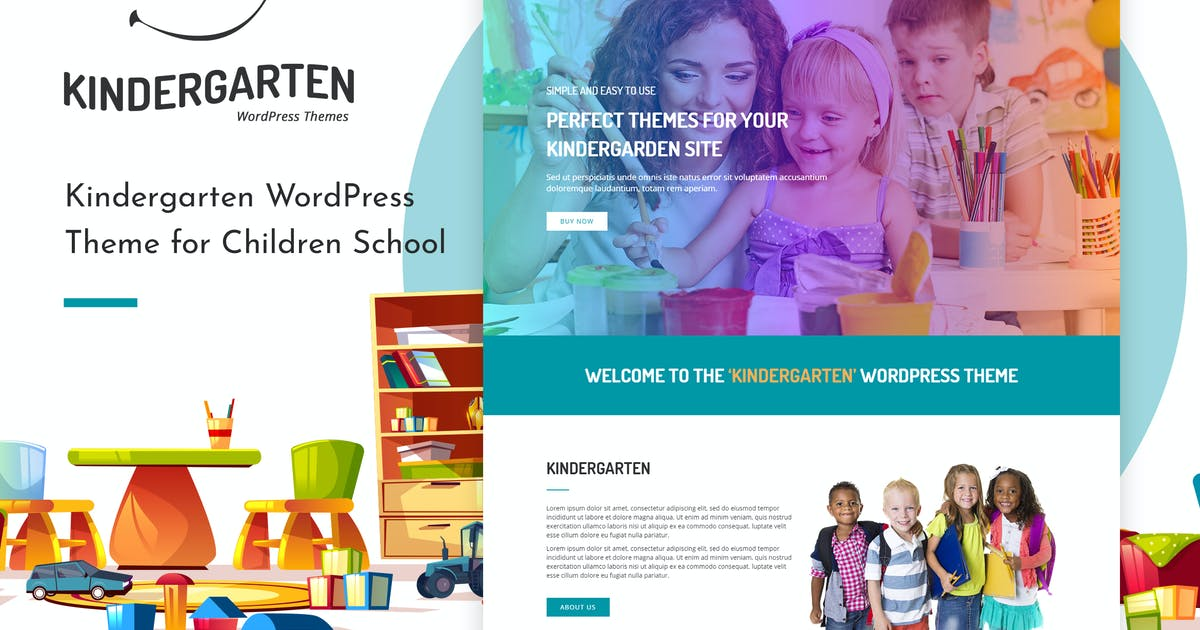 Download Kindergarten   HTML template by themesawesome