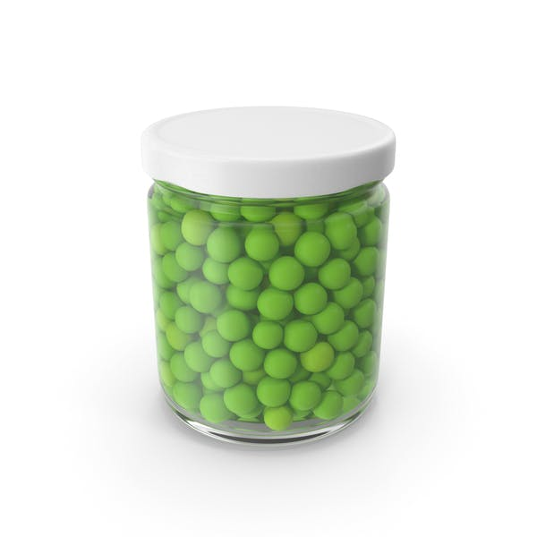 Peas Jar No Label