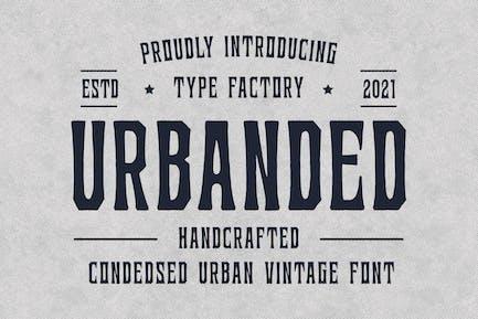 Urbanded - Condensed Urban Vintage