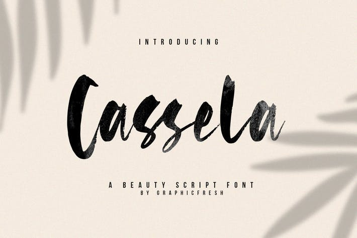 Thumbnail for Cassela - The Beauty Script Font
