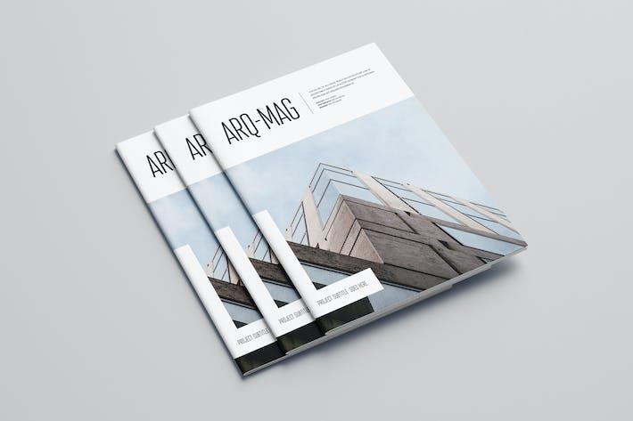 Thumbnail for Simple Minimal Architecture Magazine