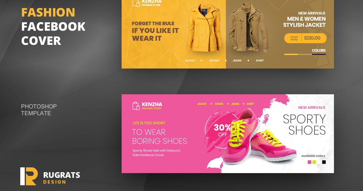 Download Fashion R1 Facebook Cover Template by youwes