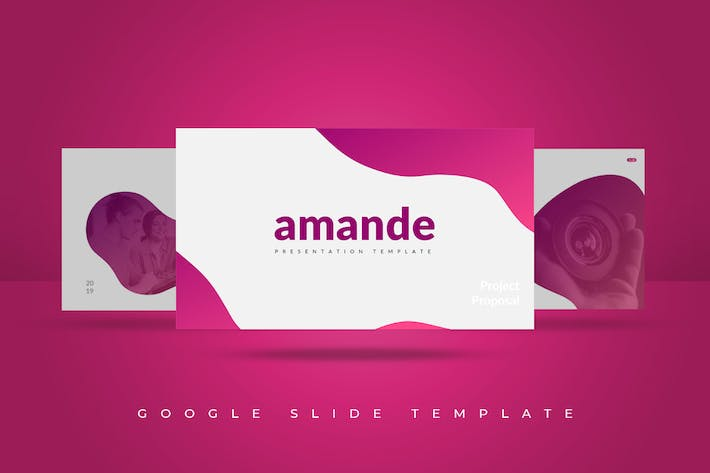 Cover Image For Amande Google Slides