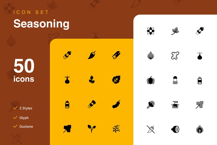 Thumbnail for Seasoning Icon