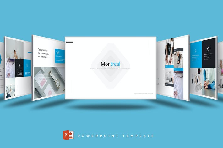 Thumbnail for Montreal - Powerpoint Template