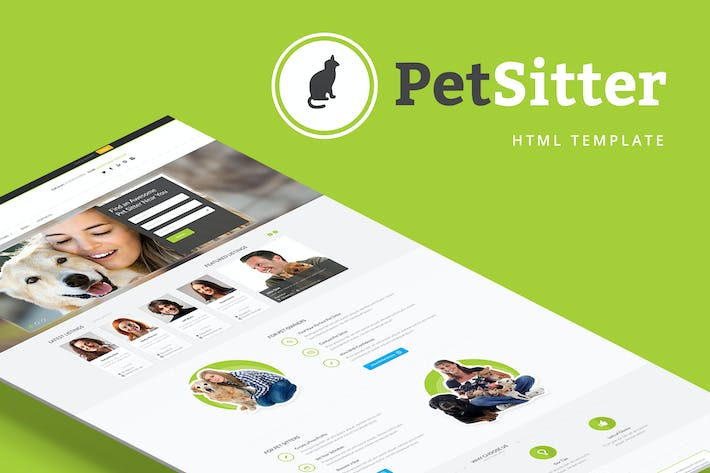 Cover Image For PetSitter - Job Board HTML Template