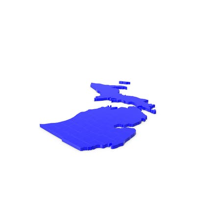 Карта округов Мичиган