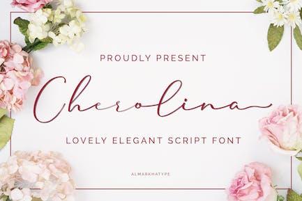 Cherolina-Lovely Elegant Script