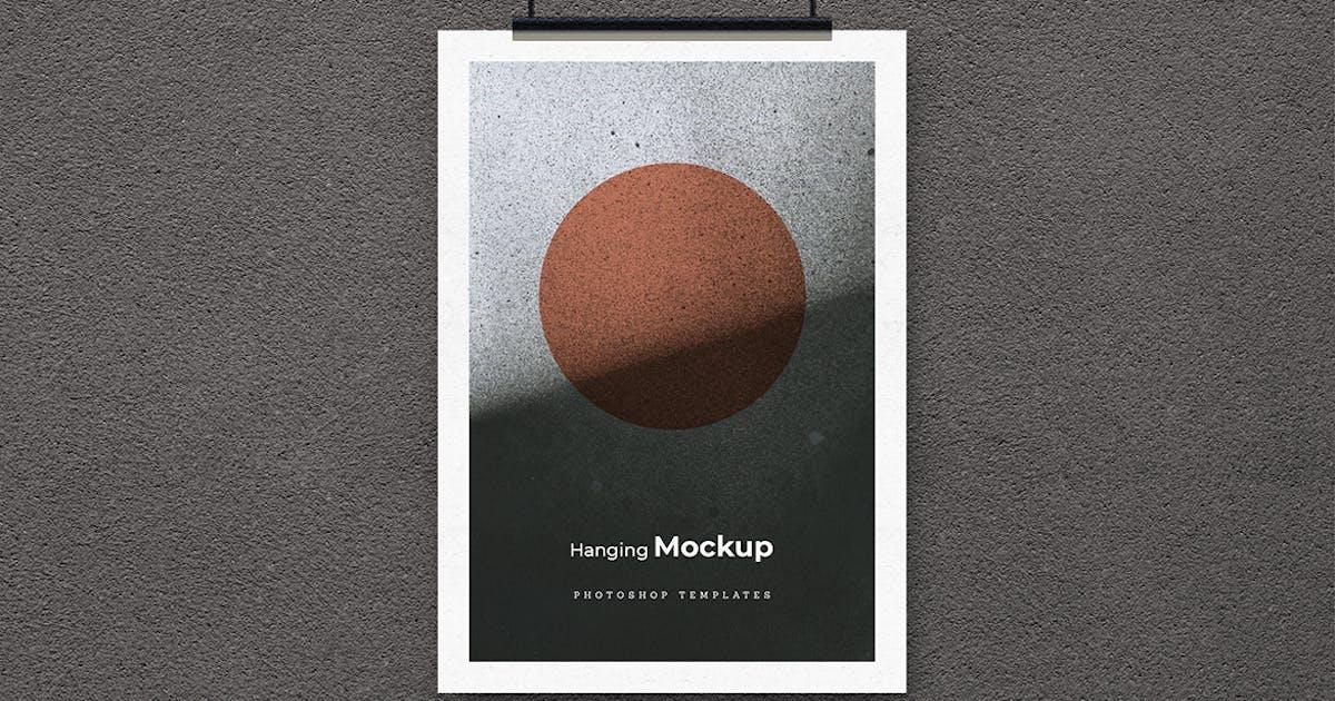 Download Hanging Poster Mockup Vol.1 by sagesmask