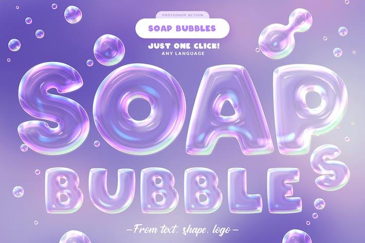Thumbnail for Soap Bubbles Photoshop Action