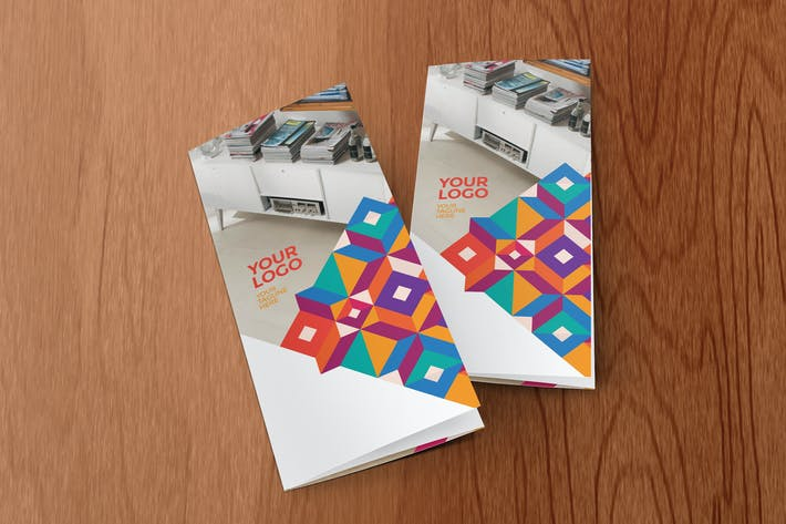 Colorful Cool Pattern Trifold