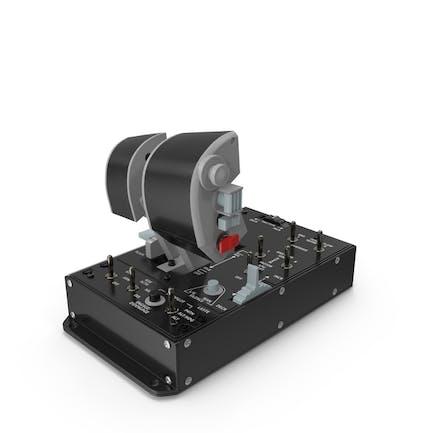 Dual Throttles Game Controller