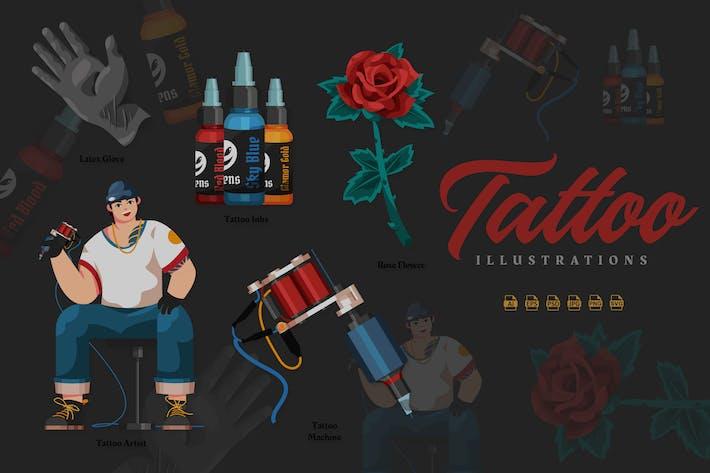 Tattoo - Illustrationen