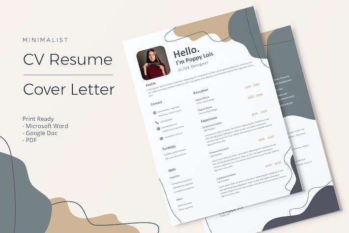 Thumbnail for Poppy - CV Resume Template