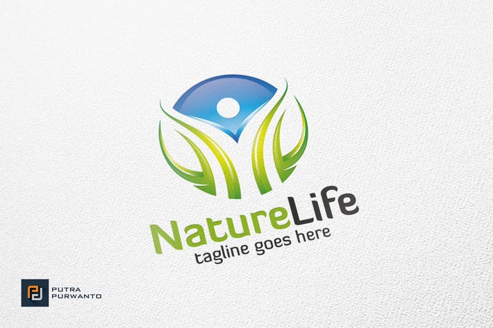 Thumbnail for Nature Life - Logo Template