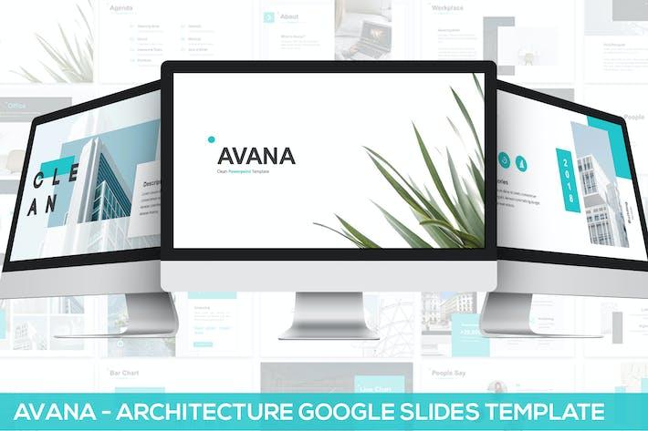 Thumbnail for Avana - Architecture Google Slides Template
