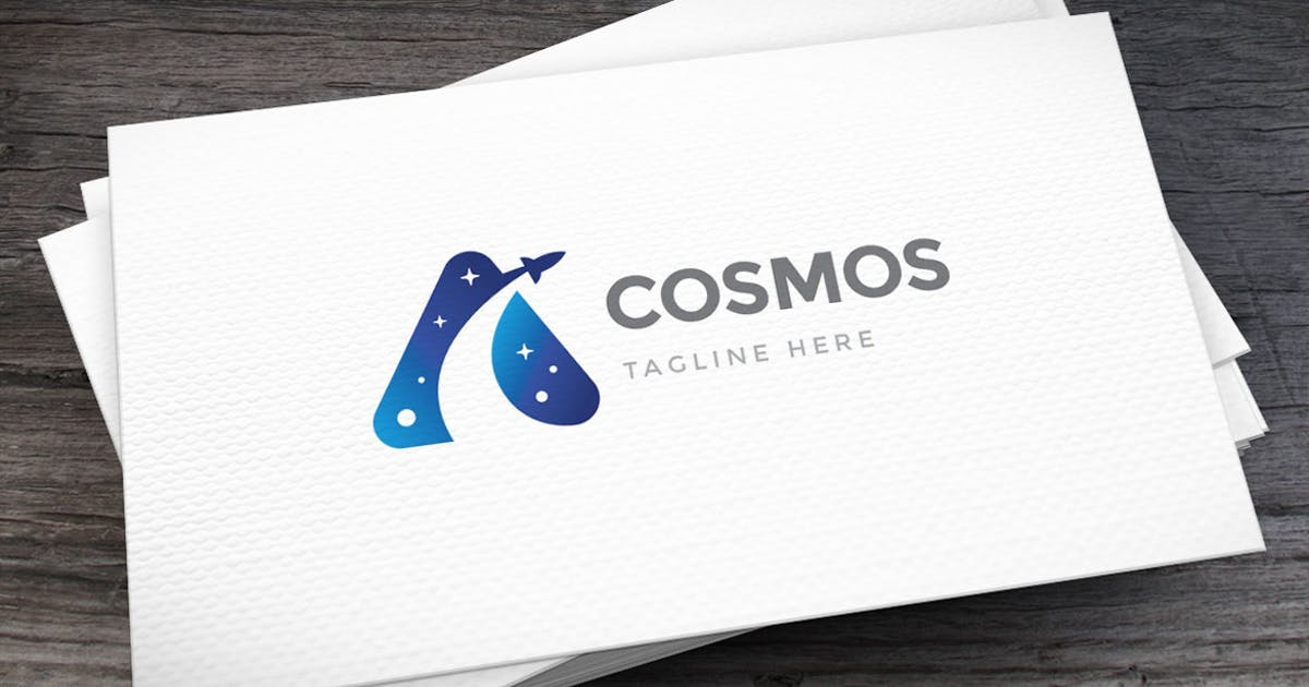 Download Space Travel Logo Template by empativo