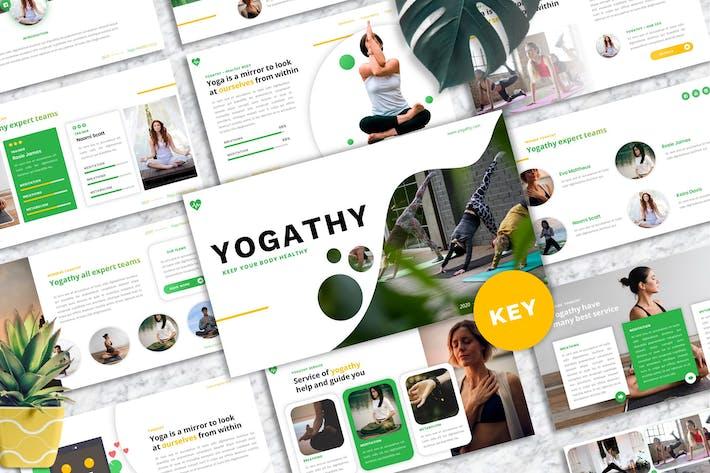 Yogathy - Yoga Keynote Template Presentation