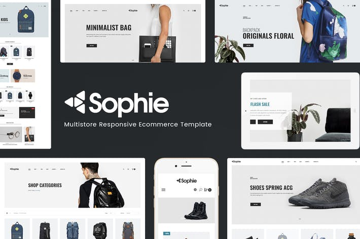 Thumbnail for Sophie - Responsive PrestaShop Theme