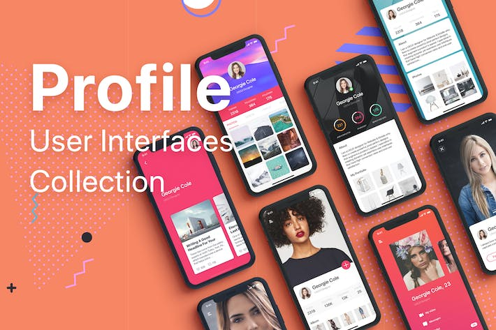 Thumbnail for Profile Mobile UI Collection
