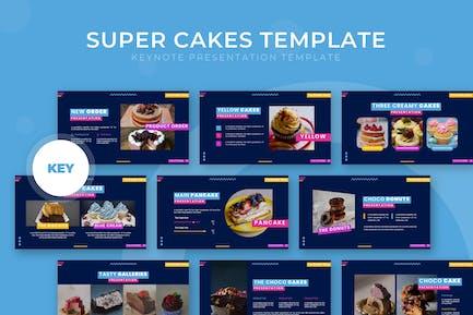Super Cakes - Keynote Template