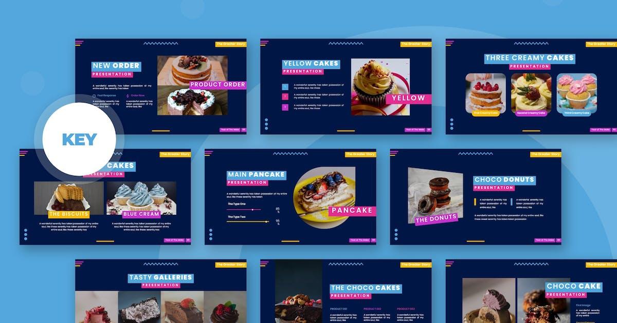 Download Super Cakes - Keynote Template by karkunstudio