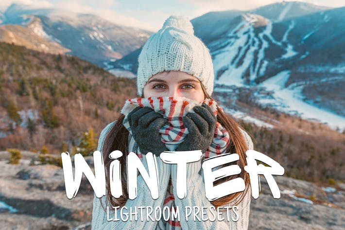 Thumbnail for 50 Winter Lightroom Presets
