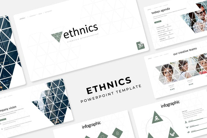 Thumbnail for Ethnics - Powerpoint Template
