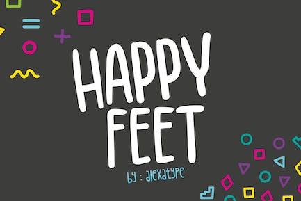 Happy Feet - Children Font